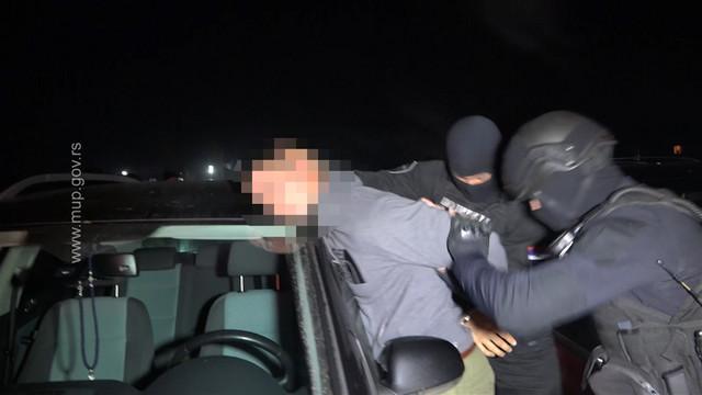 Hapšenje osumnjičenog L. T.