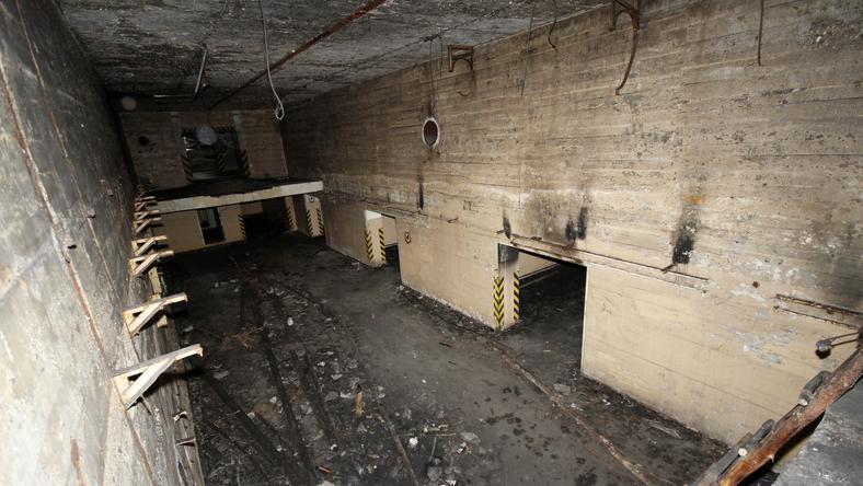 Residuet etter sammensetningen av atomkryssene i Brzeźnica-Kolonia