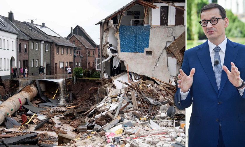 Premier Morawiecki zaoferował pomoc Niemcom