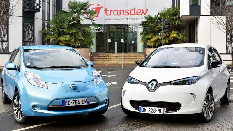 Transdev - Renault-Nissan testuje w Paryżu autonomiczne auta