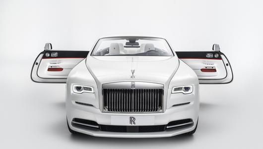 Rolls-Royce Dawn inspirowany modą
