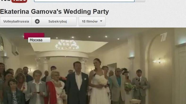 """Jekatierina Gamowa powiedziała """"tak"""""""