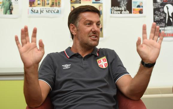 Mladen Krstajić u redakciji