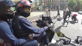 Kolejna zarejestrowana próba kradzieży motocykla w Londynie [wideo]