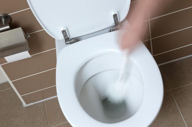 Ovako izgleda standardna WC šolja