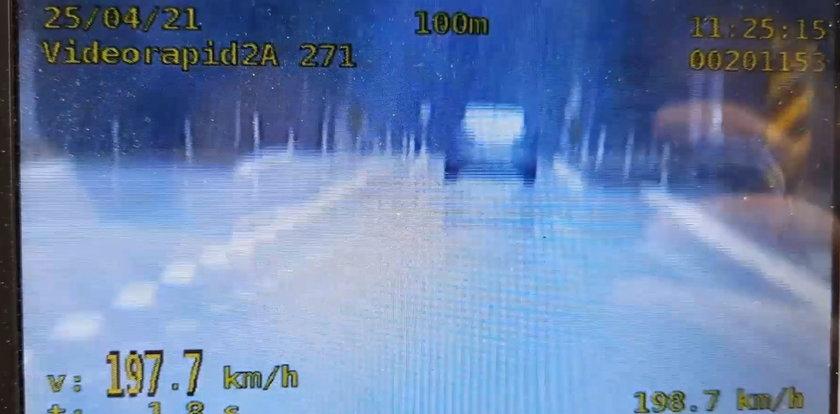Jechała prawie 200 km/h. Prawo jazdy straciła już wcześniej