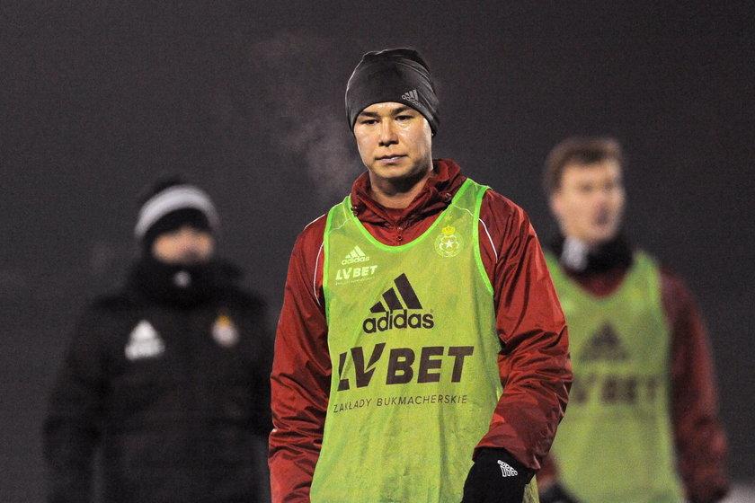Środkowy pomocnik Georgij Żukow (26 l.) to pierwszy piłkarz, który tej zimy zasilił Wisłę Kraków.