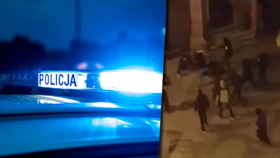 Protesty po wyroku TK. Bijatyka przed kościołem w Poznaniu (fot. shutterstock / Radio Poznań)