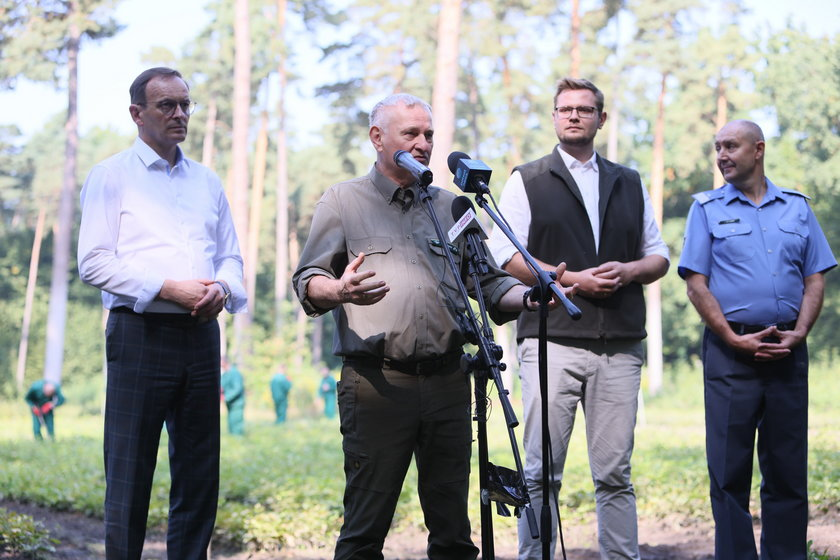 Więźniowie będą pracować w Lasach Państwowych