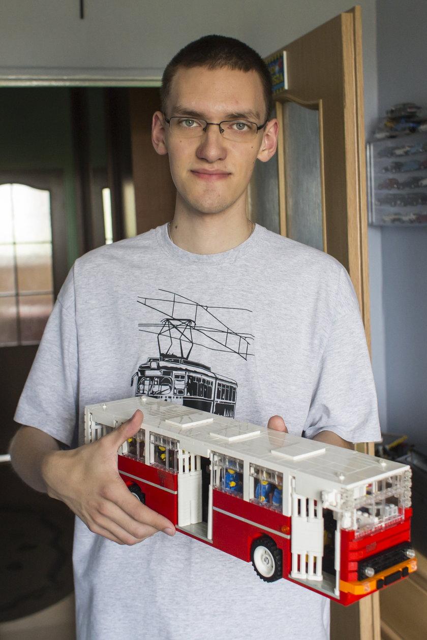 Autobus z LEGO trafi do produkcji?