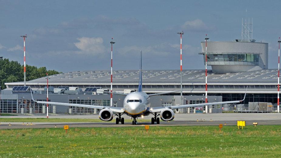 Lotnisko, Łódź