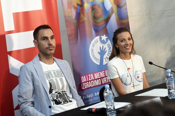 Dušan Kovačević i jelena Đoković