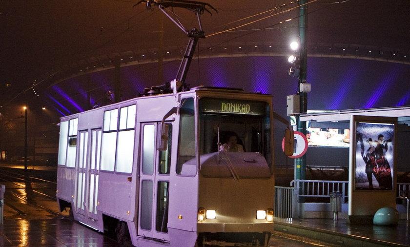 Tramwaj widmo jeździ po Katowicach
