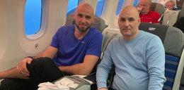 Gortat i Gollob spotkali się w samolocie. Bardzo mocna rozmowa