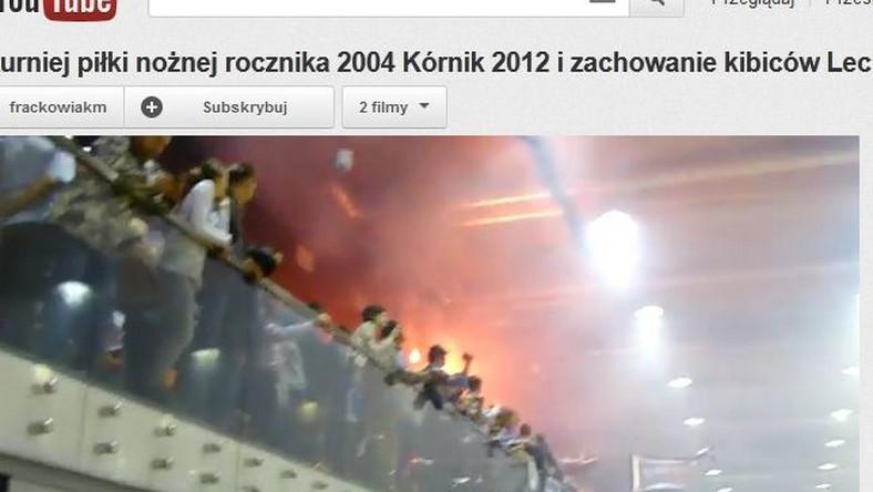Kibole Lecha Poznań w czasie dziecięcego turnieju