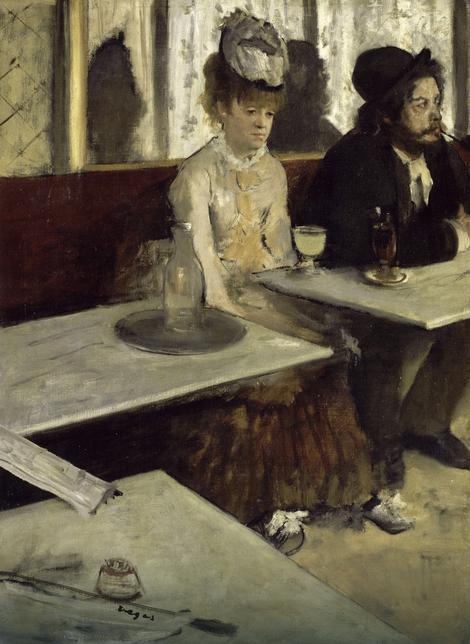 Edgar Dega, Apsint, 1876.