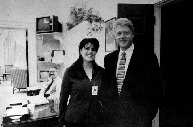 Najveći seks skandal u američkoj istoriji: Monika Levinski i Bil Klinton