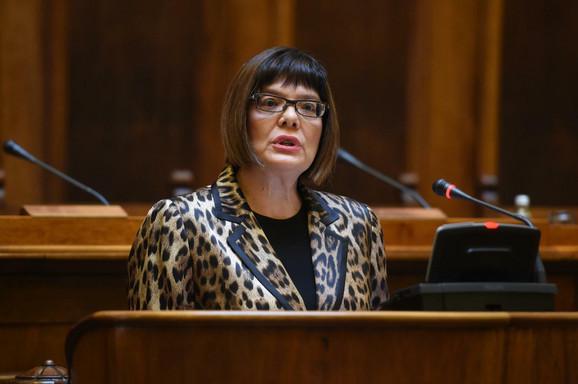 Maja Gojković na otvaranju konferencije