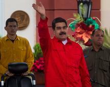 """Prezydent kraju Nicolas Maduro ogłosił, że """"Wenezuela nigdy nie ogłosi niewypłacalności""""."""
