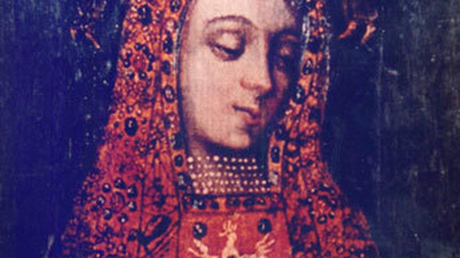 Obraz Matki Bożej Licheńskiej bez koron