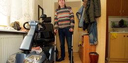 Pan Ryszard walczy z zagrzybionym mieszkaniem