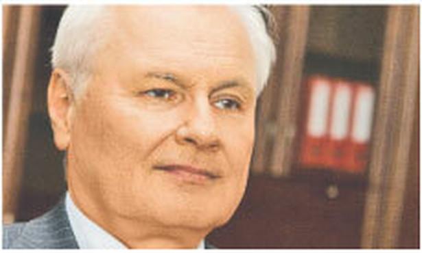 Andrzej Kraszewski, minister środowiska Fot. Wojciech Górski