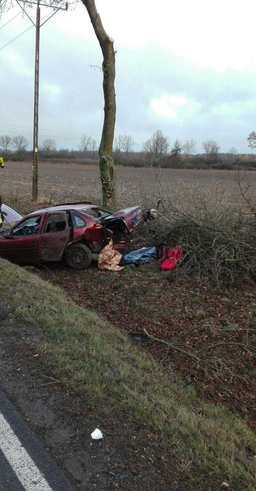 Wypadek w okolicy Bobrzan