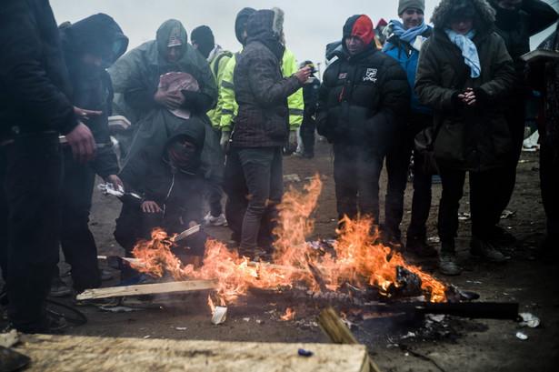 Obóz imigrantów pod Calais