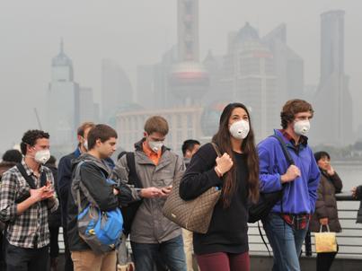 W Chinach smog może zabijać 1,36 mln osób rocznie