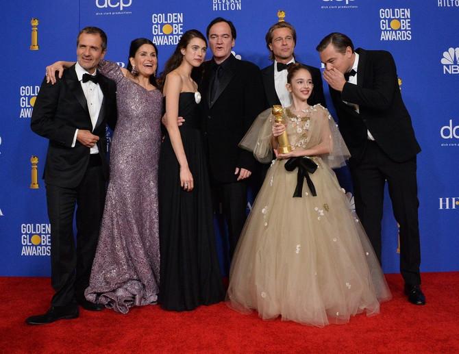 Julija sa ekipom filma