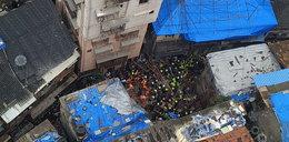 W Indiach zawalił się budynek. Nie żyje co najmniej 10 osób
