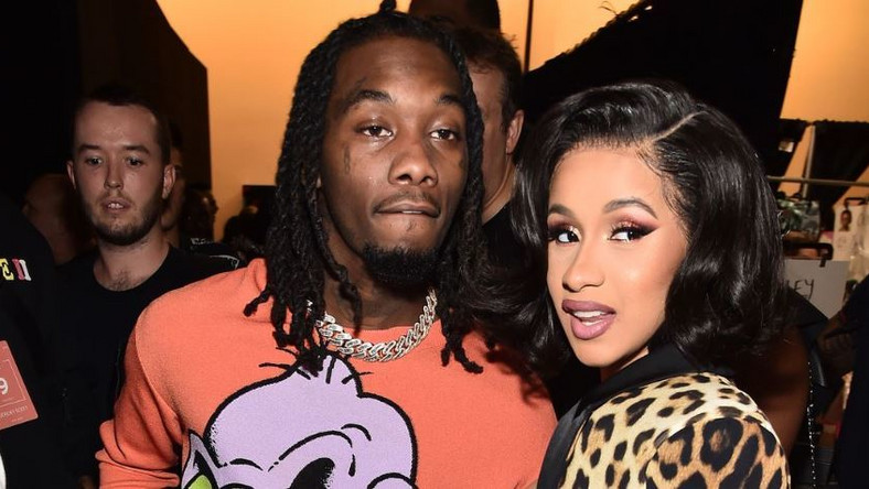Cardi B and Offset dance to Wurld's and Sarz's 'Mad'.' [THEO WARGO: GETTY IMAGES]