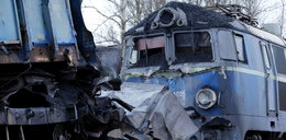 Zderzenie dwóch pociągów w Myszkowie. Ranny maszynista
