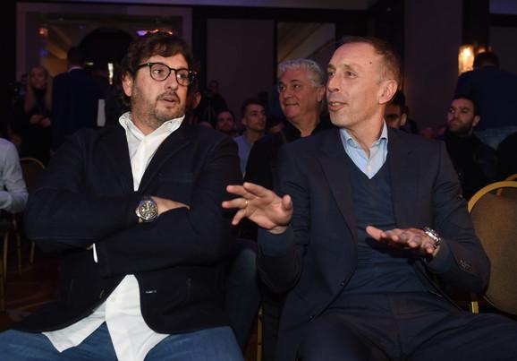 Andrea Trinkijeri i Milan Tomić, treneri