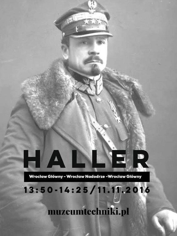 Gen. Józef Haller - patron jednego z zabytkowych pociągów