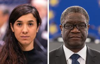 Pokojowa Nagroda Nobla za pomoc wykorzystywanym kobietom. Laureatami Nadia Murad i Denis Mukwege