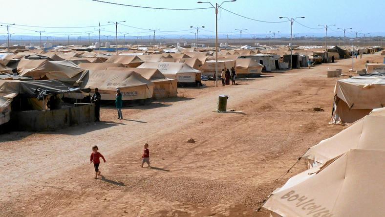 Jordania, Zaatari - największy obóz dla uchodźców syryjskich