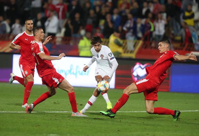 Detalj sa meča Srbija - Portugal