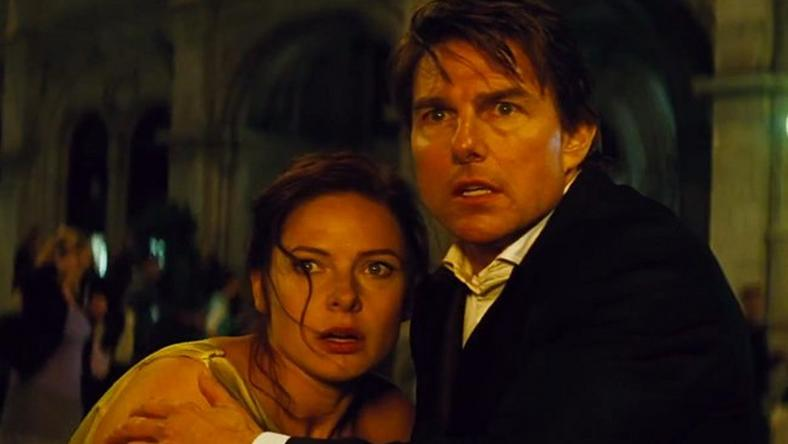 Tom Cruise in 'Mission: Impossible Rogue Nation'