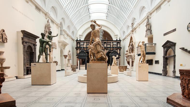 Dziedziniec V&A Museum