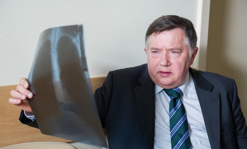 """Mieczysław Hryniewicz w serialu """"Na Wspólnej"""""""