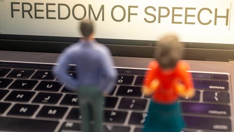 Wolność słowa. Internet.