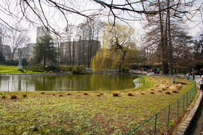 Pogled na Dunavski park u Novom Sadu