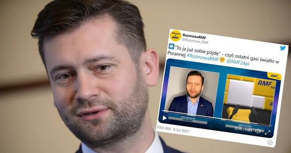 Robert Mazurek przerwał wywiad z Kamilem Bortniczukiem w RMF FM