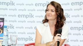 Agnieszka Radwańska na promocji książki