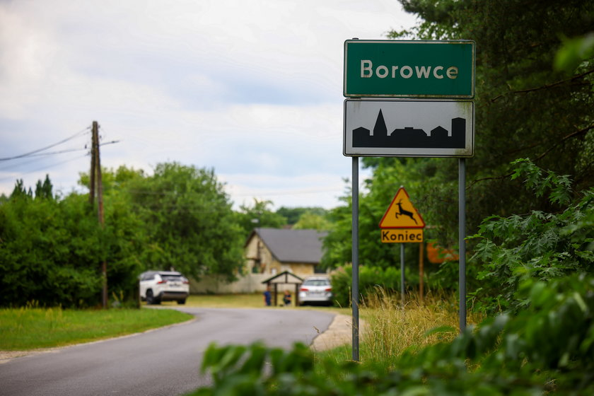 Borowce - wieś, w której rozegrała się tragedia