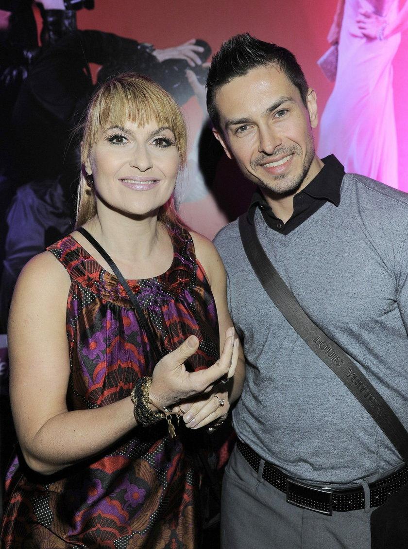 Katarzyna Skrzynecka i Marcin Łopucki