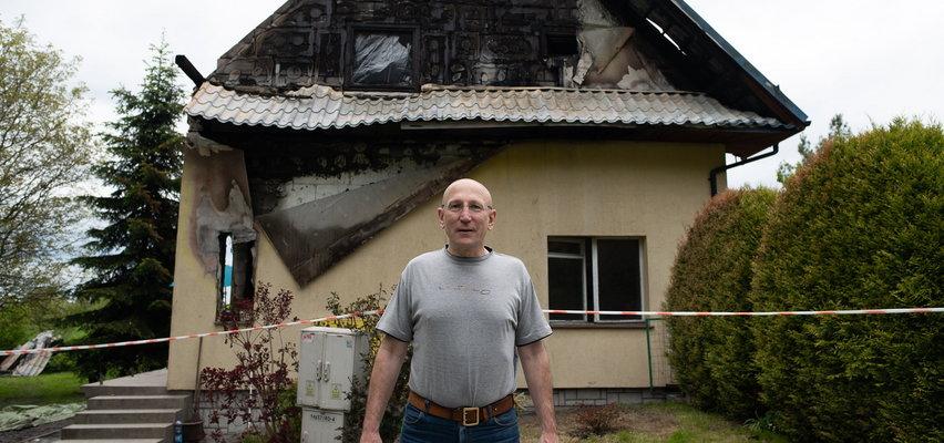 Pan Wiesław stracił wszystko w pożarze domu. Pomóżmy mu!