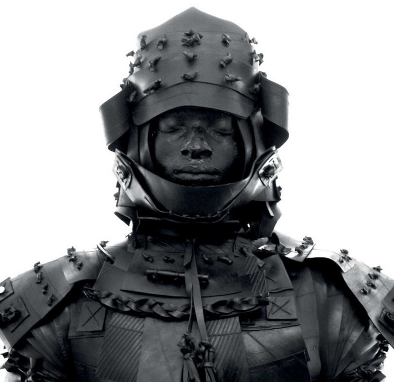 An illustration of Yasuke, the first-ever black Samurai who fought for Nobunaga's army from 1581-1582 (Photo: Nicola Roos)