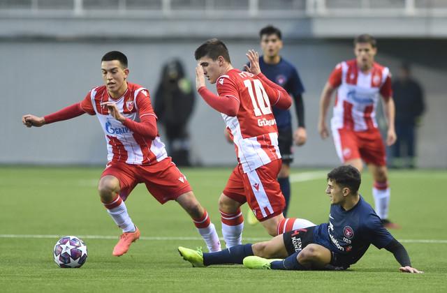 Omladinci FK Crvena zvezda i Midtjilanda